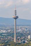 Τηλεοπτικός πύργος, Φρανκφούρτη (Γερμανία) στοκ εικόνες