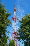 Τηλεοπτικός πύργος Στοκ εικόνα με δικαίωμα ελεύθερης χρήσης