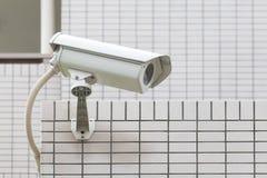 τηλεοπτικός τοίχος συστημάτων ασφαλείας φωτογραφικών μηχανών Στοκ Φωτογραφία