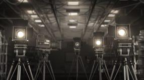 Τηλεοπτικό στούντιο Στοκ Εικόνα
