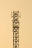 Τηλεπικοινωνίες κεραιών Στοκ φωτογραφία με δικαίωμα ελεύθερης χρήσης
