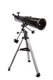 Τηλεσκόπιο καθρεφτών με την απομόνωση τρίποδων Στοκ Φωτογραφίες