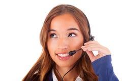 Τηλεφωνητής στοκ φωτογραφία