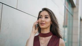 τηλεφωνική ομιλία συγκινήσεων απόθεμα βίντεο