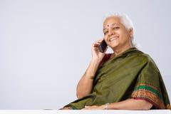 τηλεφωνική ομιλία Στοκ φωτογραφίες με δικαίωμα ελεύθερης χρήσης