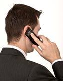 Τηλεφωνική συζήτηση στοκ φωτογραφία