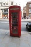 Τηλεφωνικός θάλαμος του Λονδίνου στοκ εικόνες