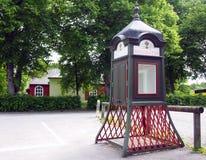 Τηλεφωνικός θάλαμος Στοκ φωτογραφία με δικαίωμα ελεύθερης χρήσης