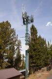 Τηλεφωνικός πύργος κυττάρων Στοκ εικόνα με δικαίωμα ελεύθερης χρήσης