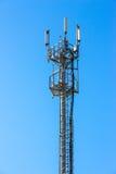Τηλεφωνικός πύργος κυττάρων Στοκ Φωτογραφία