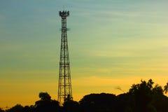 Τηλεφωνικός πύργος κυττάρων Στοκ φωτογραφία με δικαίωμα ελεύθερης χρήσης