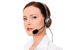 Τηλεφωνικός χειριστής υποστήριξης στοκ εικόνες