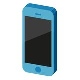 Τηλεφωνικό εικονίδιο επίσης corel σύρετε το διάνυσμα απεικόνισης Στοκ εικόνα με δικαίωμα ελεύθερης χρήσης