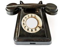 τηλεφωνικό διανυσματικό λευκό απεικόνισης ανασκόπησης μαύρο Στοκ Εικόνες