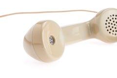 Τηλεφωνικό μικροτηλέφωνο Στοκ Φωτογραφία