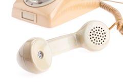Τηλεφωνικό μικροτηλέφωνο Στοκ φωτογραφίες με δικαίωμα ελεύθερης χρήσης