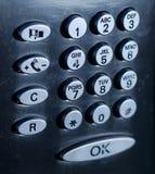 Τηλεφωνικό πληκτρολόγιο Στοκ Φωτογραφία