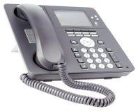 Τηλεφωνικό σύνολο γραφείων IP Στοκ εικόνα με δικαίωμα ελεύθερης χρήσης