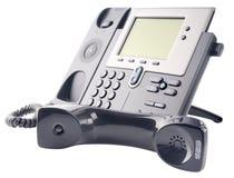 Τηλεφωνικό σύνολο IP, από-γάντζος Στοκ φωτογραφίες με δικαίωμα ελεύθερης χρήσης