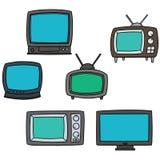 τηλεόραση Στοκ Εικόνες