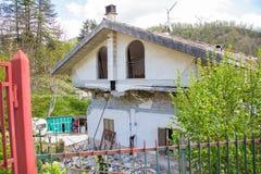 Τη ζημία που προκαλείται από το σεισμό εκείνο το χτύπημα κεντρική Ιταλία σε 20 Στοκ εικόνες με δικαίωμα ελεύθερης χρήσης