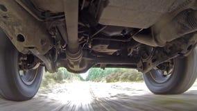 Τη σύστημα αναστολής αυτοκινήτων για τη δόνηση κατά οδήγηση καθορισμός υψηλός απόθεμα βίντεο