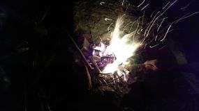 Τη φύση της πυρκαγιάς θα πάνε στοκ φωτογραφία με δικαίωμα ελεύθερης χρήσης