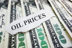 Τιμές του πετρελαίου Στοκ φωτογραφίες με δικαίωμα ελεύθερης χρήσης