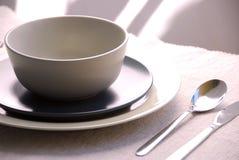 τιμή τών παραμέτρων θέσεων γευμάτων Στοκ Φωτογραφία