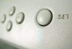 τιμή τών παραμέτρων κουμπιών Στοκ φωτογραφίες με δικαίωμα ελεύθερης χρήσης