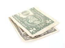 τιμολογήστε το δολάριο ένα Στοκ Φωτογραφία
