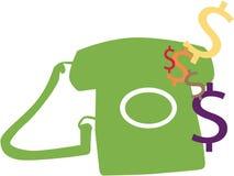 τιμολογήστε το τηλέφωνο Ελεύθερη απεικόνιση δικαιώματος