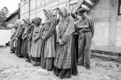 Τιμωρημένα παιδιά - θέαμα Στοκ Φωτογραφία