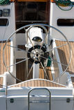Τιμόνι μετάλλων Στοκ φωτογραφία με δικαίωμα ελεύθερης χρήσης
