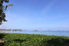 Τιμόρ-Leste, άποψη νησιών Atauru Στοκ Εικόνα