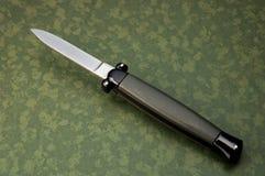 τινάστε το μαχαίρι Στοκ φωτογραφία με δικαίωμα ελεύθερης χρήσης