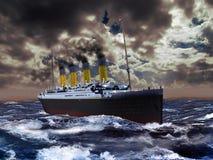 τιτανικός Στοκ εικόνα με δικαίωμα ελεύθερης χρήσης