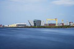 Τιτανικό μουσείο, Μπέλφαστ Βόρεια Ιρλανδία Στοκ Εικόνες