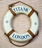 Τιτανικό Lifesaver Στοκ Εικόνες
