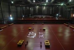Τμήματα ναυπηγείων χάλυβα του σκάφους Στοκ εικόνες με δικαίωμα ελεύθερης χρήσης