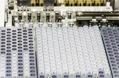 Τμήματα συσκευών ανάλυσης - εργαστήριο Στοκ Εικόνες