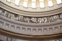 Τμήμα αμερικανικών Capitol θόλων frieze Στοκ φωτογραφίες με δικαίωμα ελεύθερης χρήσης