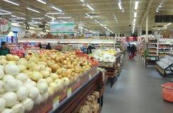 Τμήμα λαχανικών Στοκ Εικόνες