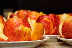 τμήμα μνήμης μήλων Στοκ Εικόνες