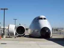 Τμήμα μύτης του Boeing 747-100 και πιλοτήριο Στοκ φωτογραφίες με δικαίωμα ελεύθερης χρήσης