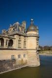 Τμήμα του Chantilly Castle, Γαλλία στοκ φωτογραφία