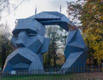 Τοίχοι αναρρίχησης βράχου Cossack στοκ φωτογραφία