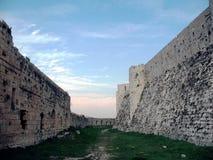 τοίχοι δαχτυλιδιών chevaliers crak des δ στοκ εικόνες