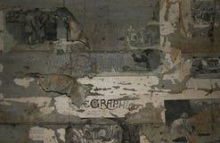 τοίχοι εγγράφου Στοκ Φωτογραφίες