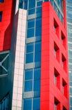 Τοίχοι ενός σύγχρονου κτηρίου Στοκ εικόνα με δικαίωμα ελεύθερης χρήσης